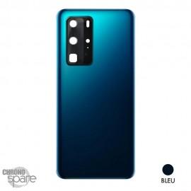 Vitre arrière + vitre caméra Huawei P40 Pro - Bleue