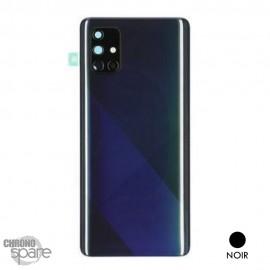 Vitre arrière + vitre caméra Samsung Galaxy A71 - Noire