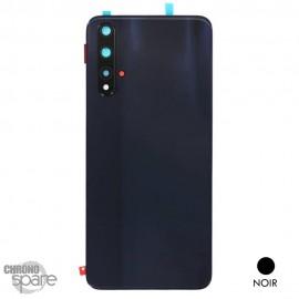 Vitre arrière + vitre caméra Huawei HONOR 20 - Noire