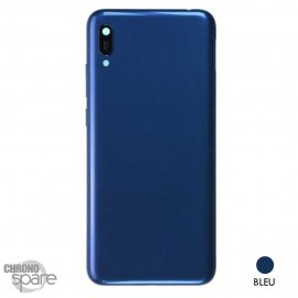 Châssis + vitre caméra Huawei Y6 2019 - Bleu