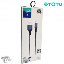 Câble USB vers Micro USB 12W Noir 1M TOTU (BM-005)