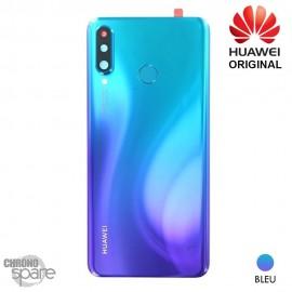 Vitre arrière + vitre caméra Huawei P30 Lite (Officiel) - Bleue