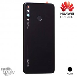 Vitre arrière + vitre caméra Huawei P30 Lite (Officiel) - Noire