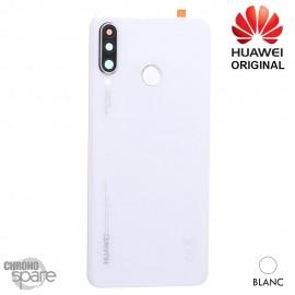 Vitre arrière + vitre caméra Huawei P30 Lite (Officiel) - Blanche