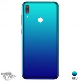 Châssis + vitre caméra Huawei Y7 2019 - Bleu