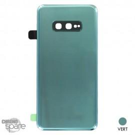 Vitre arrière + vitre caméra Samsung Galaxy S10 E - Verte