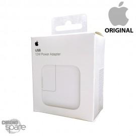 Chargeur secteur Apple original usb 12W Blanc avec boite