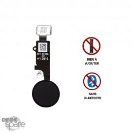 Nappe bouton Home Noire iPhone 7/8/7 Plus / 8 Plus dernière génération sans bluetooth - Noir HQEU