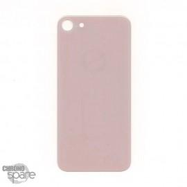 Plaque arrière en verre iPhone 8 Or (pour machine laser) HQEU