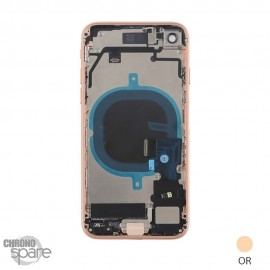 Chassis iphone 8 or - avec nappes HQEU