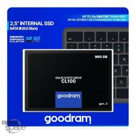 """SSD Goodram CL100 960 Go 2.5"""" Gen 3"""