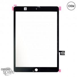 Vitre tactile noire iPad 7 2019 10.2 (A2197 / A2198) OEM
