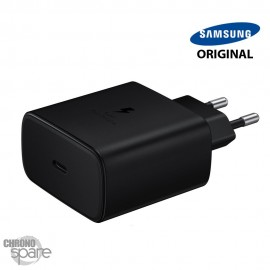 Chargeur secteur Samsung original TYPE-C 45W Noir Sans cable BULK