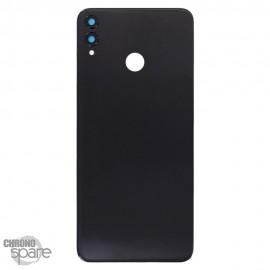 Vitre arrière + lentille caméra Huawei Honor 8X Noire