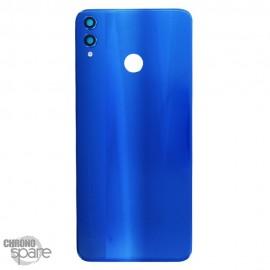 Vitre arrière + lentille caméra Huawei Honor 8X Bleu