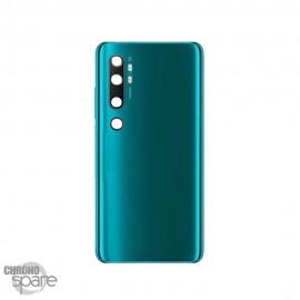 Vitre arrière verte cobalt Xiaomi Mi note 10