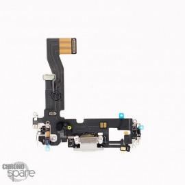 Nappe connecteur de charge iPhone 12 pro Argent (Reconditionnée)