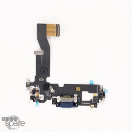 Nappe connecteur de charge iPhone 12 pro Bleu (Reconditionnée)