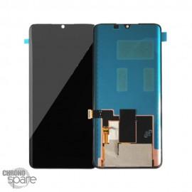 Ecran LCD + vitre tactile noire Xiaomi Mi Note 10