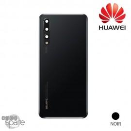 Vitre arrière + vitre caméra Huawei P20 Pro - Noir Officiel