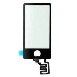 Vitre tactile noire iPod Nano 7