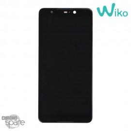 Ecran LCD et Vitre Tactile Noir Wiko Lenny 5 (Officiel)