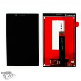 Ecran LCD + vitre tactile noire Blackberry Key2 lite