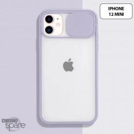 Coque Transparente iPhone 12 mini -Mauve