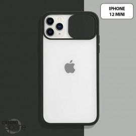 Coque Transparente iPhone 12 mini - Noir