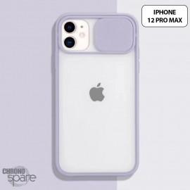 Coque Transparente iPhone 12 pro max - Mauve