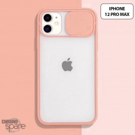 Coque Transparente iPhone 12 pro max - Rose