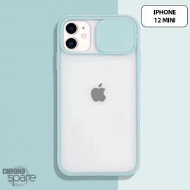 Coque Transparente iphone 12 mini - Vert Clair