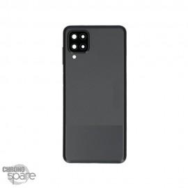 Vitre arrière Samsung Galaxy A12 Noire