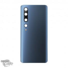 Vitre arrière + lentille caméra Xiaomi mi 10 Pro Bleu