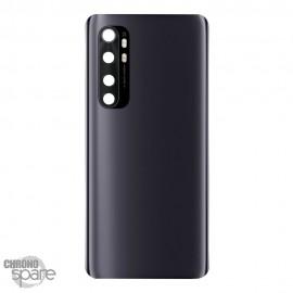 Vitre arrière + lentille caméra Xiaomi Mi Note 10 Lite Noire