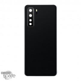 Vitre arrière + lentille caméra Huawei P40 Lite 5G Noire