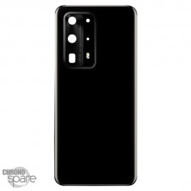 Vitre arrière + lentille caméra Huawei P40 Pro plus Noire