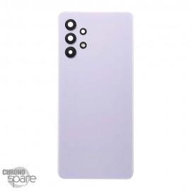 Vitre arrière + lentille caméra Samsung Galaxy A32 Violet