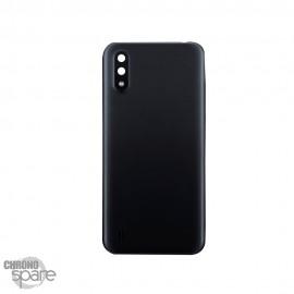Vitre arrière + lentille caméra Samsung Galaxy A01 Noire