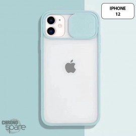 Coque Transparente iphone 12 - Vert Clair
