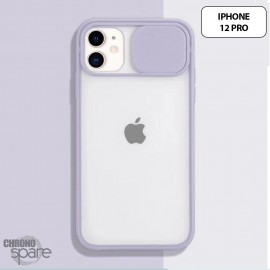 Coque Transparente iphone 12 pro-Mauve