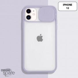 Coque Transparente iPhone 12 - Mauve