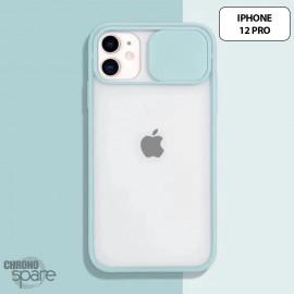 Coque Transparente iphone 12 pro - Vert Clair