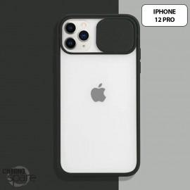 Coque Transparente iPhone 12 pro - Noir