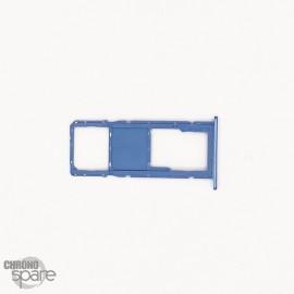 Tiroir simple SIM Samsung Galaxy A11 Bleu