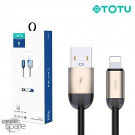 Câble USB vers lighting or 1.2 M TOTU (BL-010)