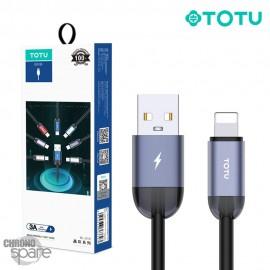 Câble USB vers lighting violet 1.2 M TOTU (BL-010)