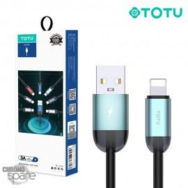 Câble USB vers lighting vert 1.2 M TOTU (BL-010)