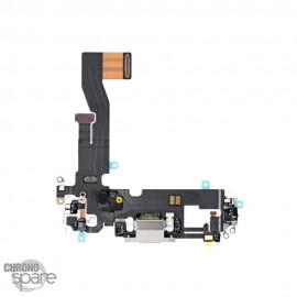 Nappe connecteur de charge iPhone 12/12 pro argent