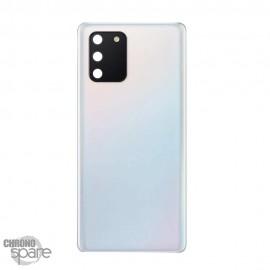 Vitre arrière + lentille caméra Samsung Galaxy S10 Lite Blanc